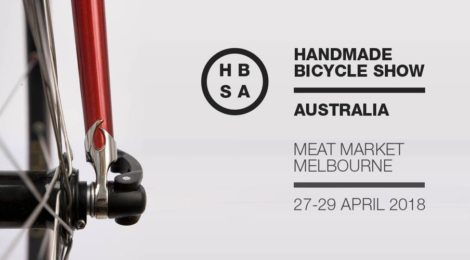 Handmade Bicycle Show Australia, not far away