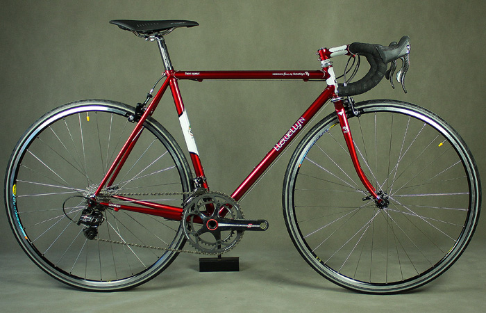 rather than putting the same amount of money into an off the rack carbon fiber bicycle from one of the major manufacturers that wont fit you as well and