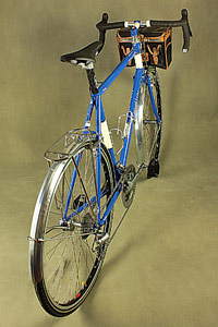 Rear view of Randonneur