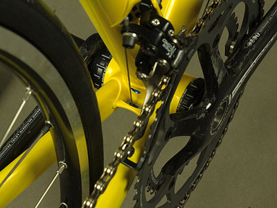 Cadenzia Road Bike Drivetrain Detail